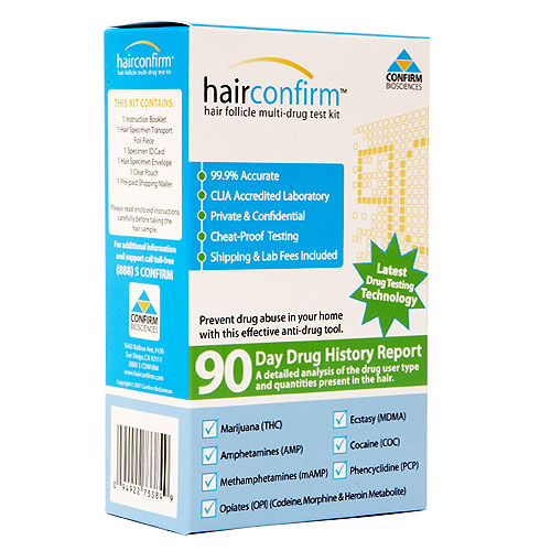 Hair Follicle Multi-Drug Test Kit